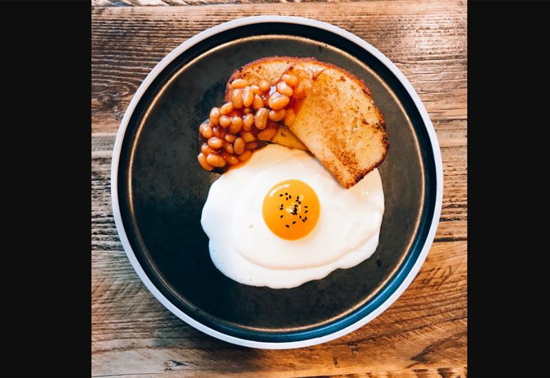 Beans on toast dessert, Blackmoor Dining Room