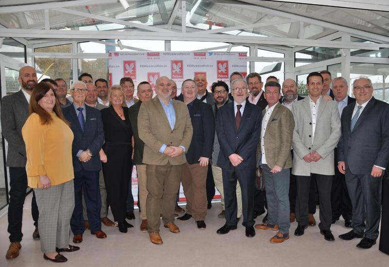 Falcon team, 200-year anniversary celebration 2019