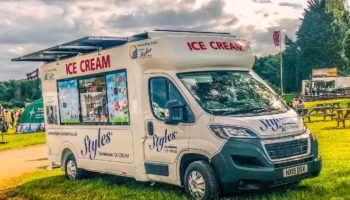 Styles ice cream van