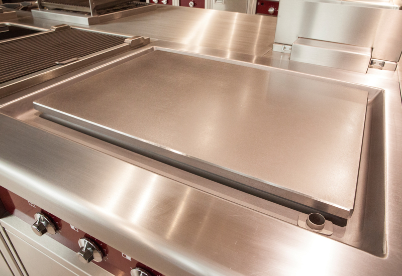 Charvet 800 series multi-zone plancha