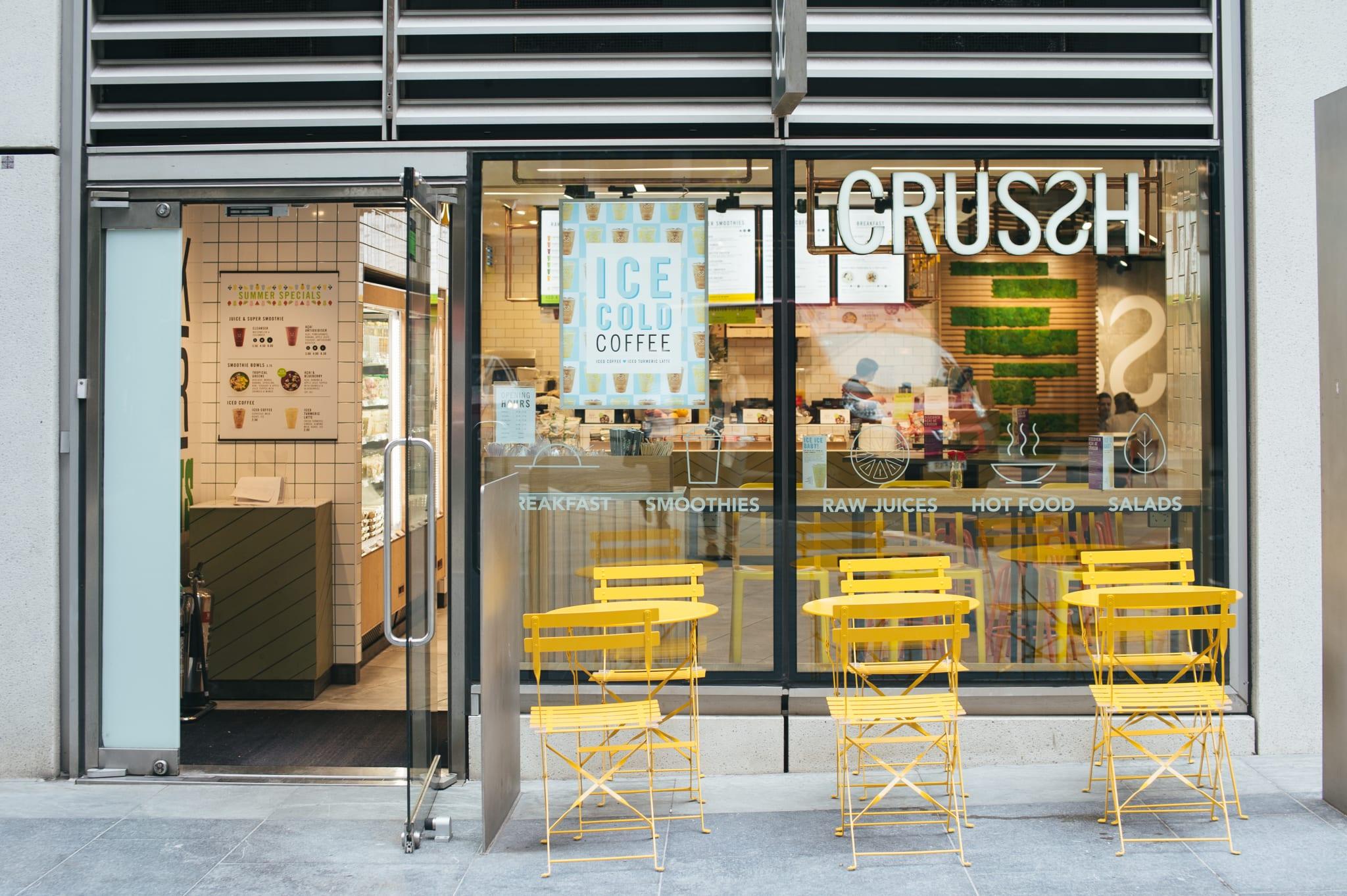 Crussh store
