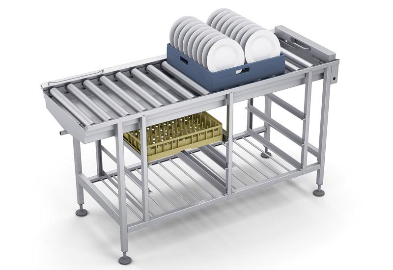 Roller Table warewashing solution