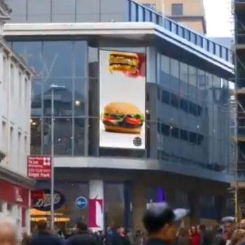 Burger King Whopper advert