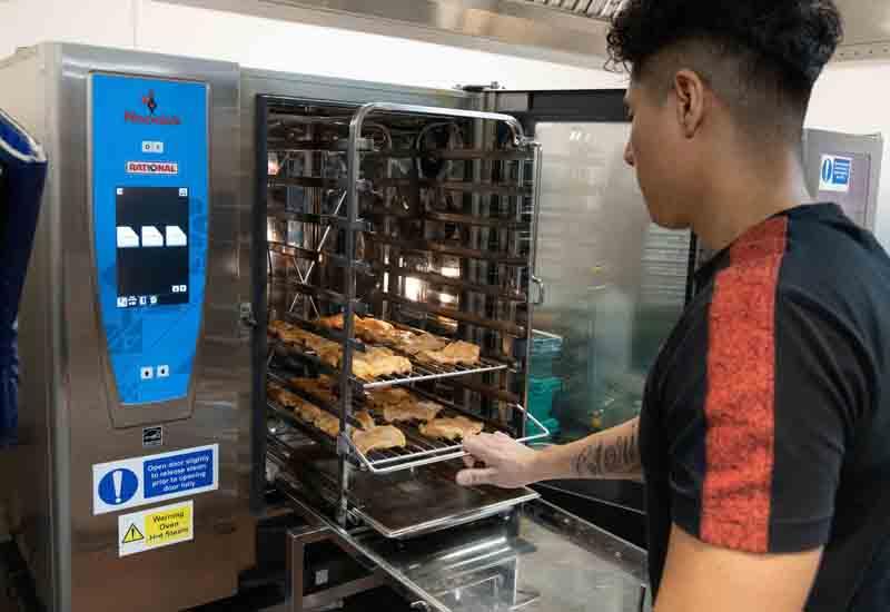 Nando's Rational oven