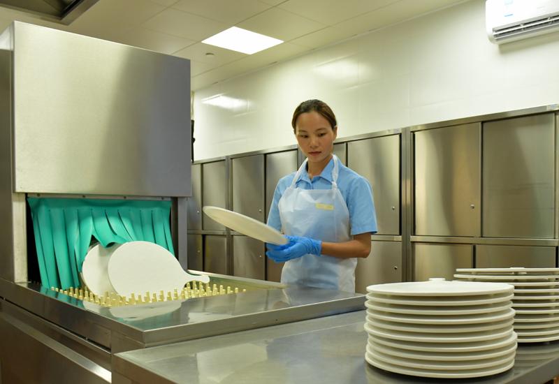 Meiko large dishwasher