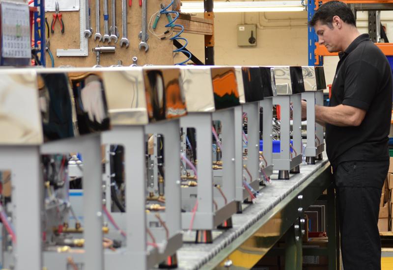 Fracino British manufacturing