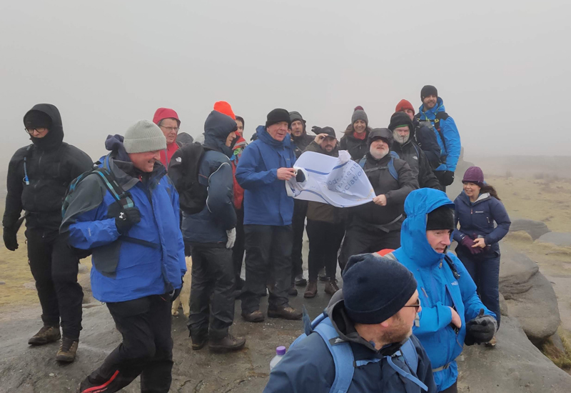 Commercial Catering Equipment Charity Walking Group, Kinder Scout, February 2020 3