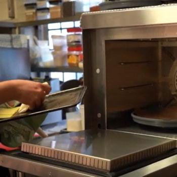 Merrychef oven at Bird in Hand, Sandhurst