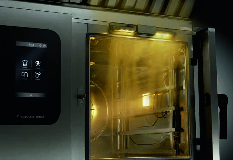 ConvoSense combi oven with artificial intelligence
