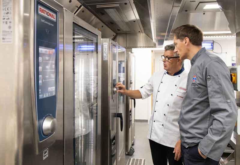 University of St Andrews kitchen