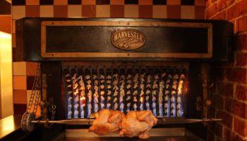 Harvester rotisserie