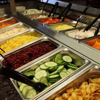 Havester salad bar