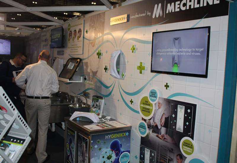 Mechline stand, HRC 2020