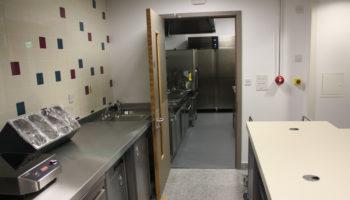 St Bart's hospital kitchen