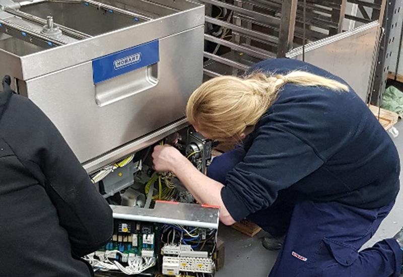 Hobart Service female engineer 2