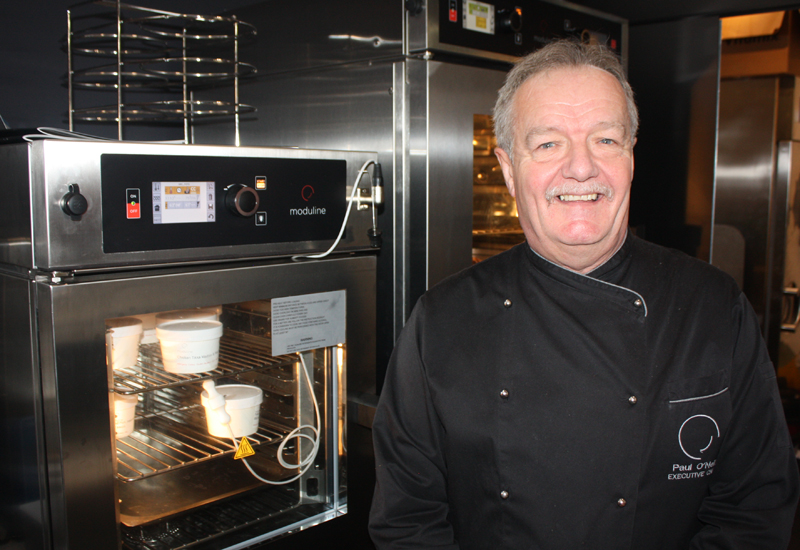 Paul O'Neill, development and corporate chef