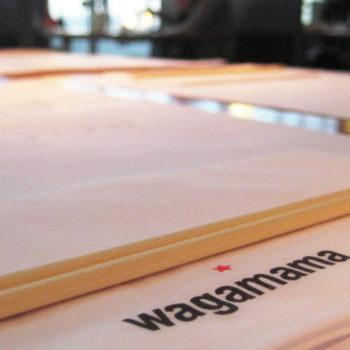 Wagamama napkin