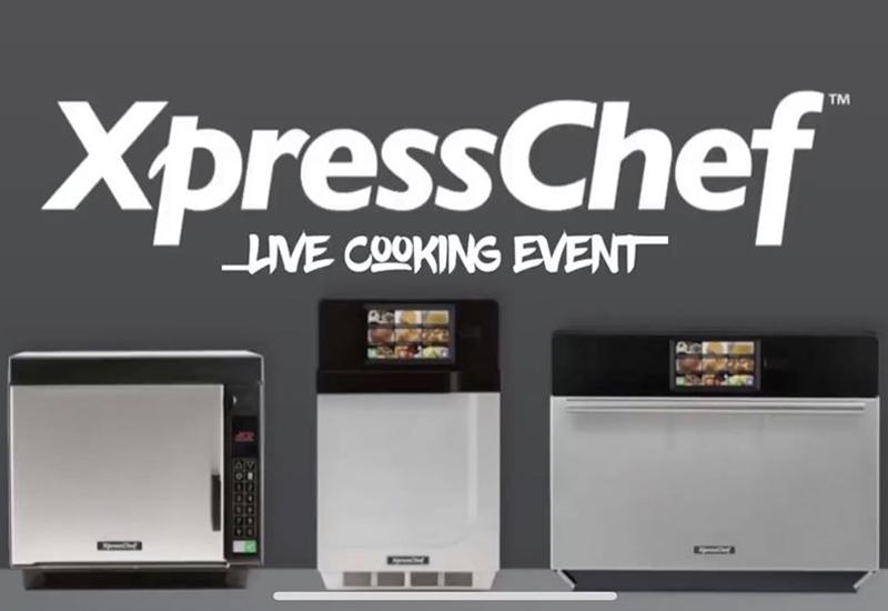 XpressChef Live Cooking Event