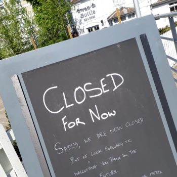Closed Greene King pub, Swan & Bottle, Uxbridge