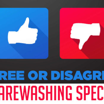 Agree or disagree warewashing special