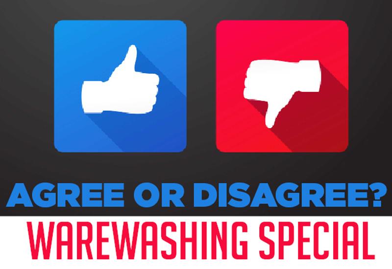 Agree or disagree warewashing special