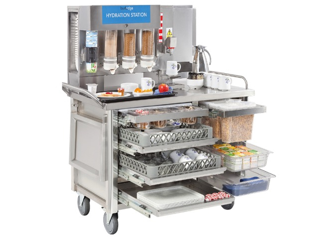 Burlodge healthcare catering trolley