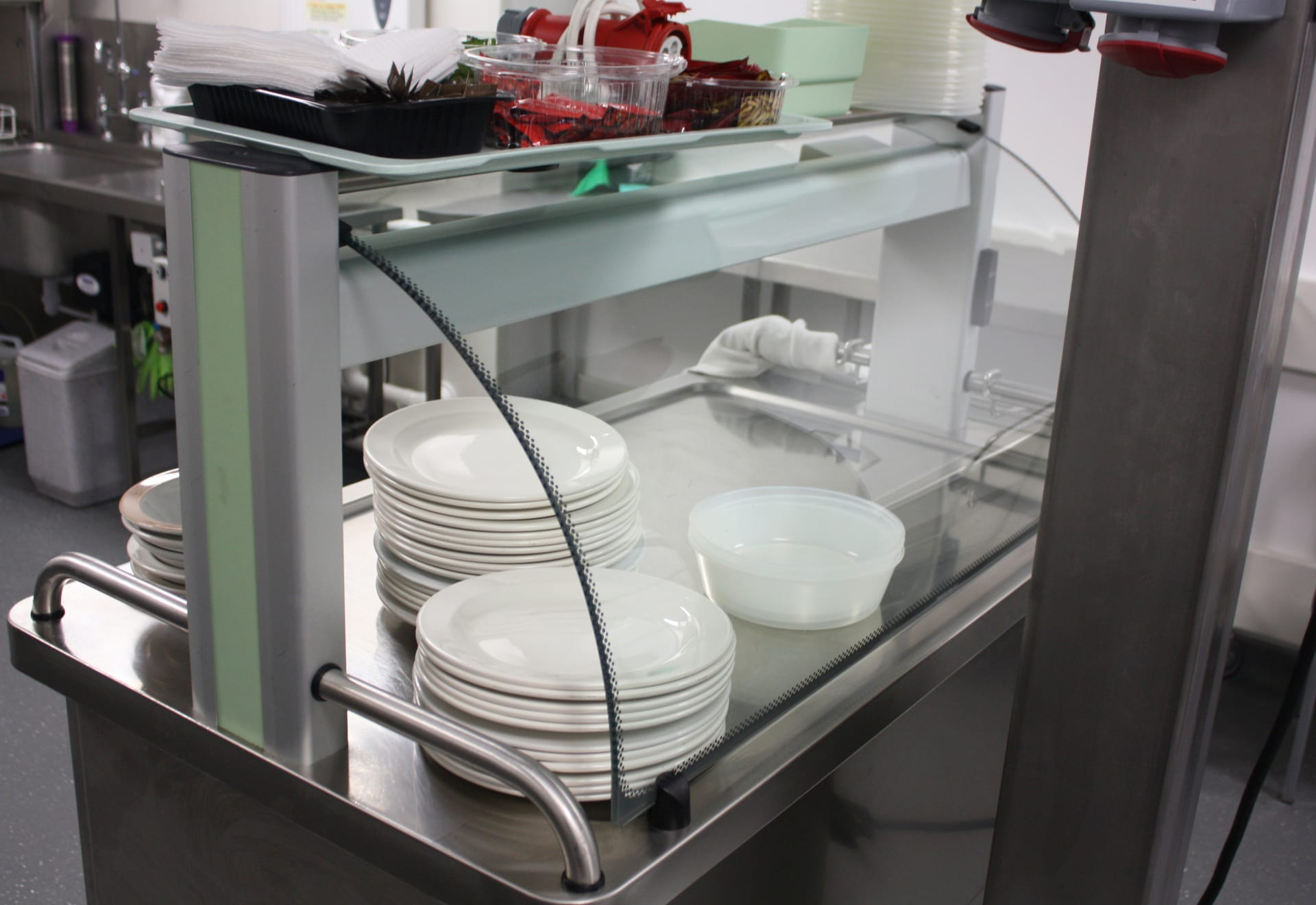 Hospital catering trolley