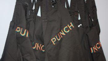 Punch Pubs aprons
