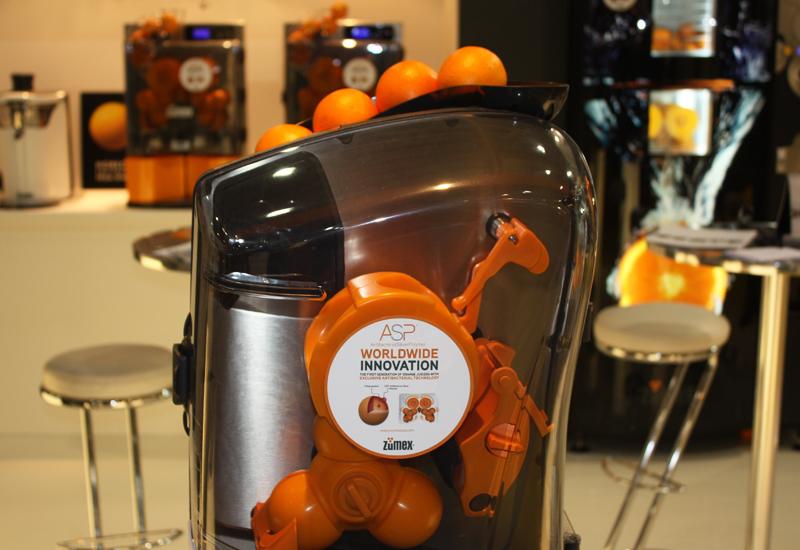 Zumex juicing machine