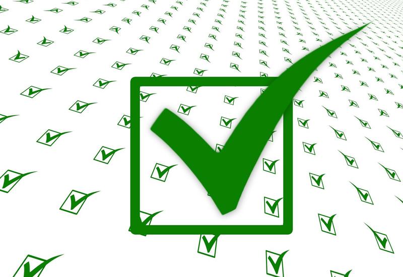 Checklist tick
