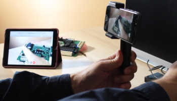 Two Pairs of Eyes augmented reality remote guidance app