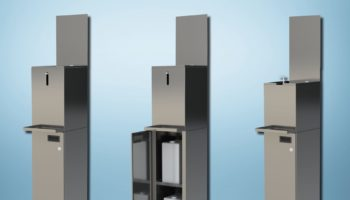 Falcon hand sanitiser stations