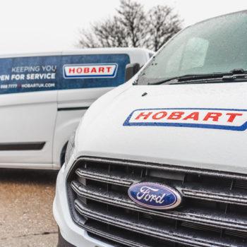 Hobart Service vans