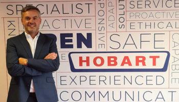 Adam Ponting, sales director, Hobart Service