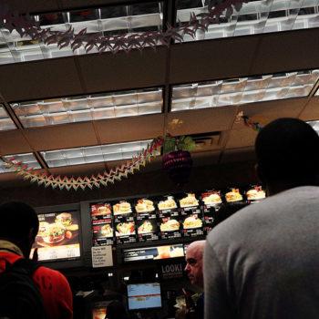 McDonald's queue