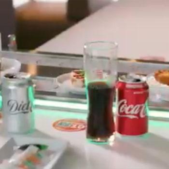 YO! Sushi new conveyor belt
