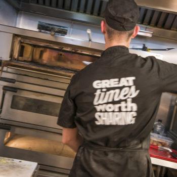 Greene King pizza chef