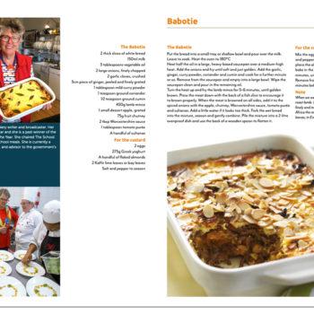 Feast With Purpose cookbook inside