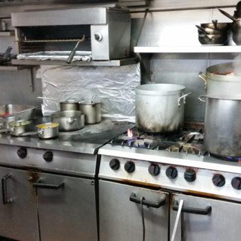 Gas cookline