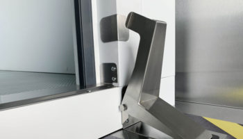 Williams foot-operated coldroom door opener
