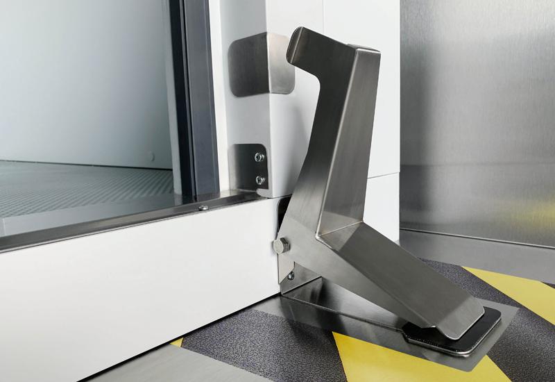 Williams foot-operated coldroom door opener