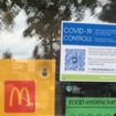 McDonald's NSF safety sticker