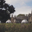 Meldrum House Country Hotel & Golf Course dining domes