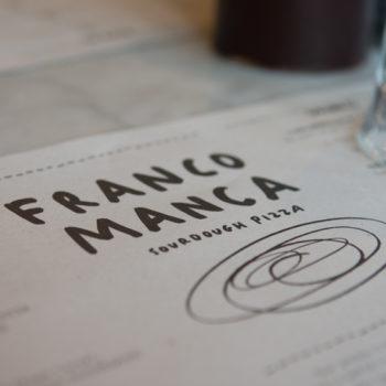 Franco Manca menu