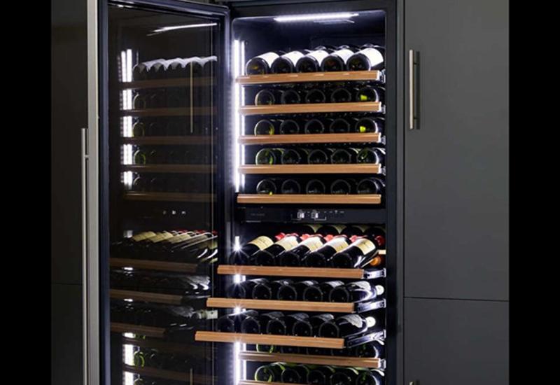 Vin Garde Pommard dual temperature wine storage cabinet