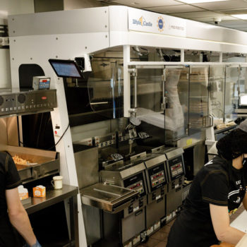 White Castle Flippy kitchen assistant 1