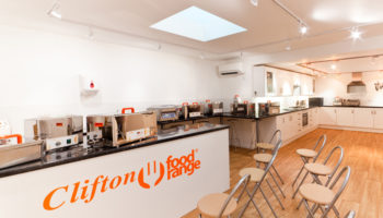 Clifton Food Range demo kitchen