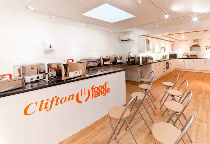 Clifton Food Range demo kitchen
