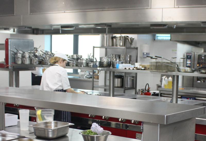 Compass Group kitchen, Chertsey