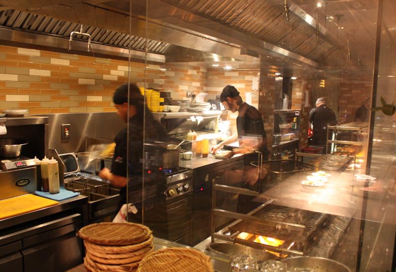 Sticks'n'Sushi kitchen